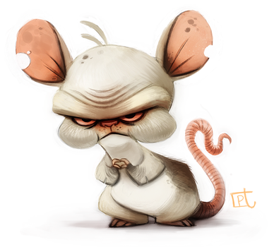 Day 598. Brain RD by Cryptid-Creations
