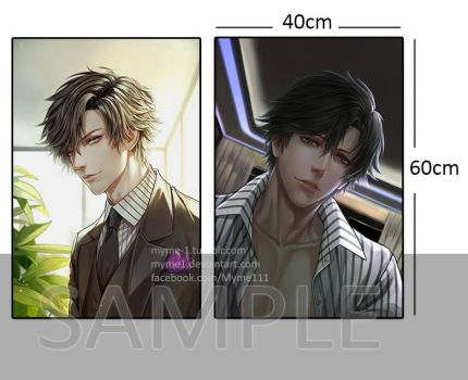 Jumin Han small pillow case (open order) by Myme1