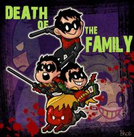 mini DEATH OF THE FAMILY by bhebbo