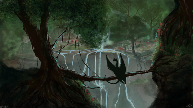 ~Rainforest speedpaint by UnicornCat