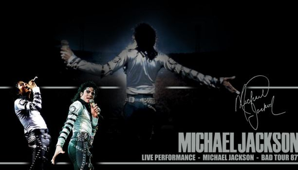 King Of Pop - Bad Tour by shyangell