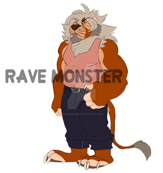 Lion Man Take My By The Hand Adopt CLOSED by RaveM0nster