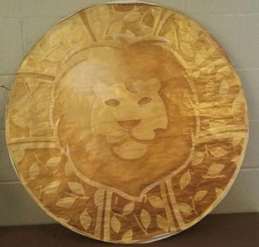 Lion Shield by CrazieCathie