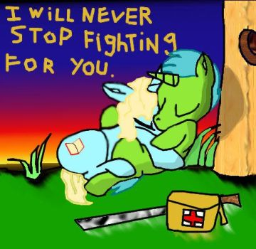 i will never stop fighting by spartianfox