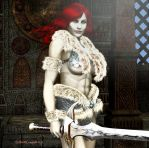 Barbarian Queen for my wife by Shawn-Morrill