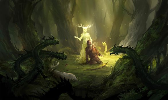 Forest (Level Up! demo) by sandara