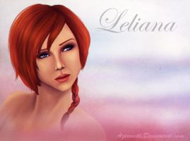 Dragon age Origins Leliana by Aztarieth