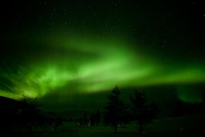 Northern Lights by CarpathianWolf