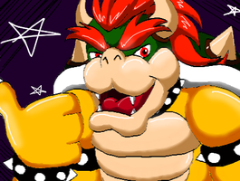 Bowser on dA Muro by Bowser2Queen