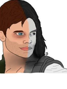 Sergeant James Buchanan Barnes, The Winter Soldier by MaxxJacks