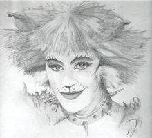 Bombalurina Drawing by Skimbleshanks2