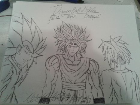Dragon Ball Alpha (Gotens Trio) by TheOnePhun211