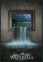 Living Paintings - Waterfall by AnneWillems