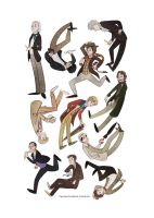 Doctor Who mosaic by TwilightSaphir