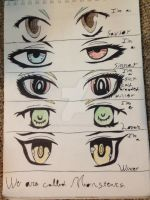 Eyes by TroubledC0splayer