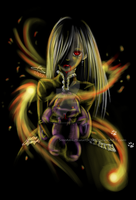 My Own Burning Flame by Miniatureowl