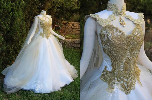 Goddess of Angels Gown by Firefly-Path