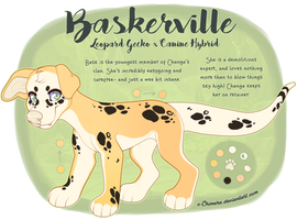 OC: Baskerville by c-Chimera