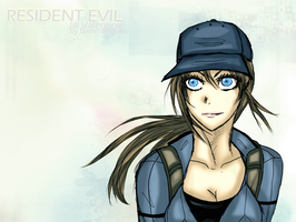 Jill Valentine re5 bsaa by FiammahGrace
