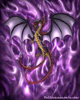 Zhassekbis: The Chaos Dragon by DragonCid
