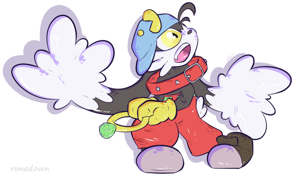 Klonoa - Day 1485 by Seracfrost