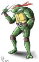 Raphael TMNT by MikimusPrime