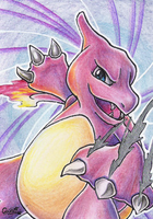 Charmeleon ACEO by CaTai