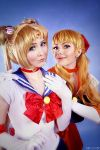 SailorMoon- Moon and Venus by MilliganVick