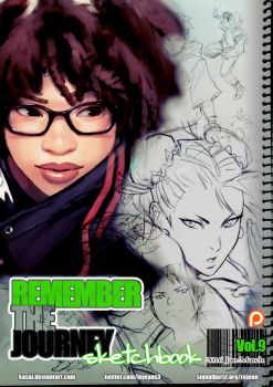 Remember the Journey Sketchbook Vol.9+Vide for $5+ by kasai