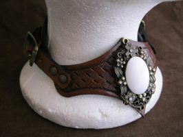 Leather Gorget B by passbyguy