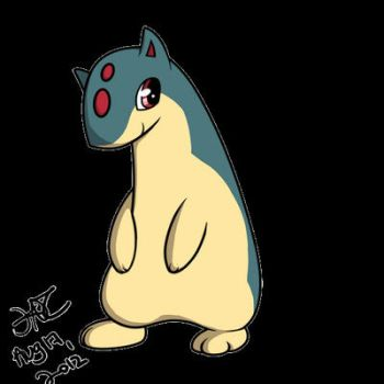 Day 03 - Starter Pokemon: Quilava by kavic