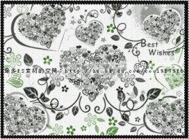 Flower heart brushes by coolwing