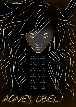 Agnes Obel - Music Poster by JessicaValerie-n-Co