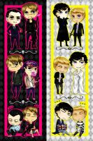 Johnlock/Mormor_Bookmarks by krusca