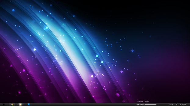 My Simple Desktop by killedkenny9
