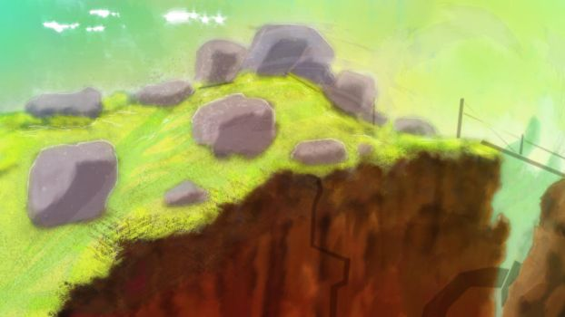 Rocks on the hill by MarcusBinge