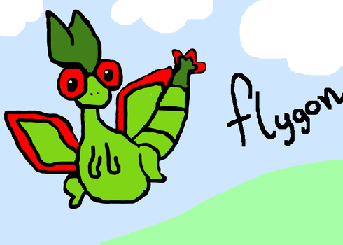 Flygon by Woouu