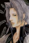 Final Fantasy VII Fan Art: One-Winged Angel by Hallowie29