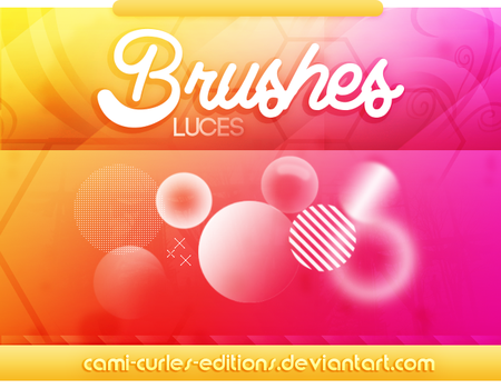 +BRUSHES: Luces | Light by CAMI-CURLES-EDITIONS