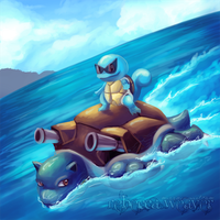 Squirtle Used Surf