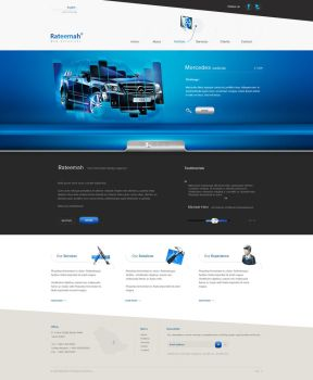 Some site for some web agency by carl913