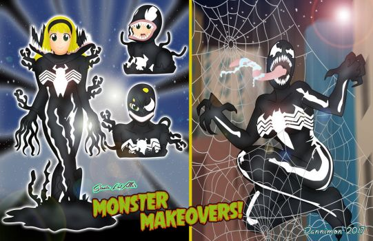 Monster Makeovers July by DannimonDesigns
