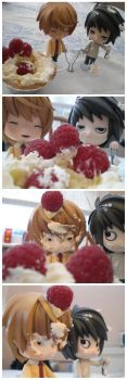 DeathNote: Food Fight by JWBeyond