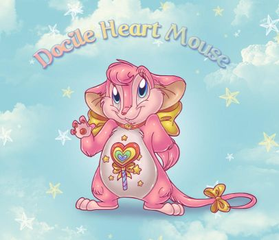 Docile Heart Mouse by ThisCrispyKat