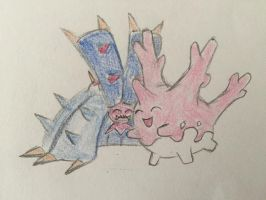 Corsola and Toxapex
