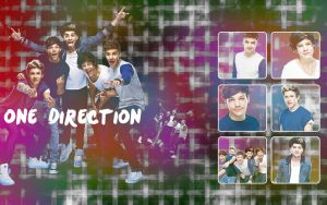 One Direction Wallpaper #3 by MeganL125