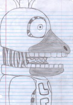 Withered Chica by Emo-cat9