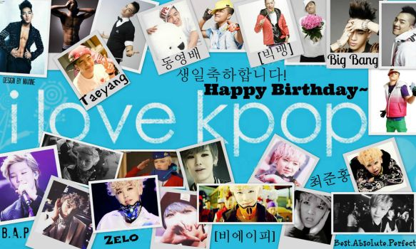 Happy Birthday To My BFF! ft. Taeyang and Zelo by KimChiChan13