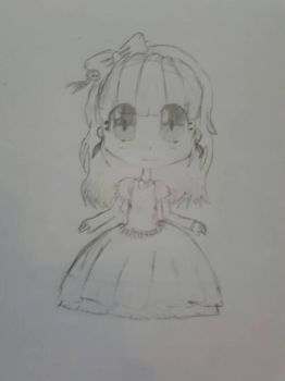 when i tried to draw anime by UndertaleLover365
