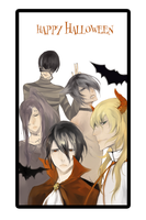 Noblesse: happy Halloween by Sawitry